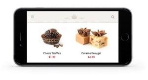 supporto mobile social e-commerce